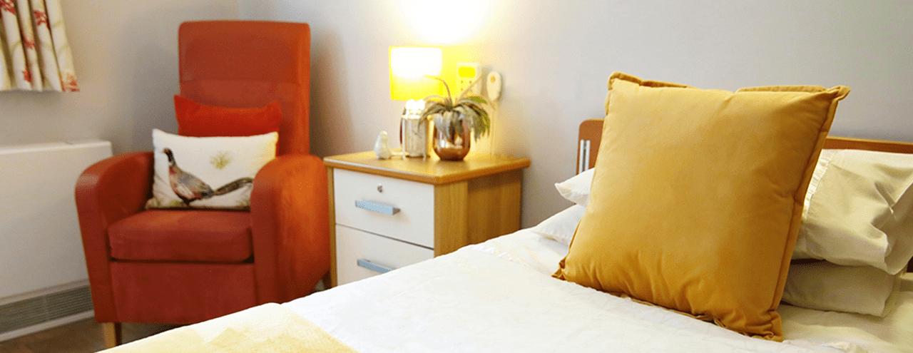 Abbey Wood Lodge Bedroom